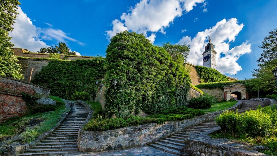 petrovaradin fortress walking path